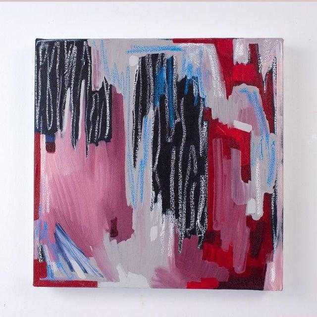 Linda Colletta Rouge Et Bleu II Painting - Image 2 of 3