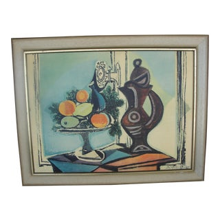 Vintage Print of Pablo Picasso Still-life
