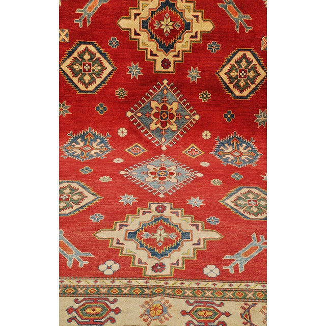 Pakistani Kazak Rug - 7′5″ × 9′ - Image 3 of 6