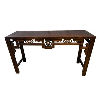 Cantonese Console Table