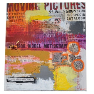 Mixed Media - Moving Pictures by David Morico