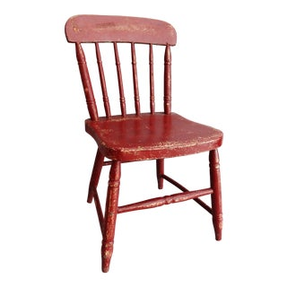 Early Americana Child's Chair