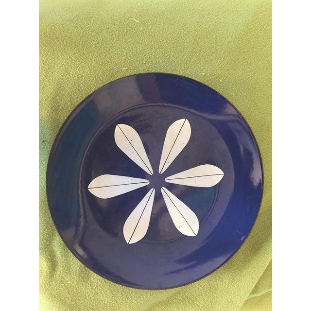 Catheineholm Blue Lotus Plates - Pair - Image 6 of 8
