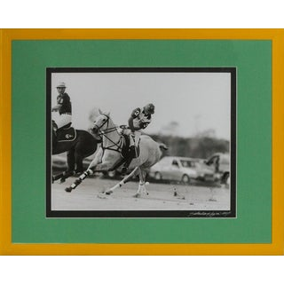 Polo Match B&W Photograph
