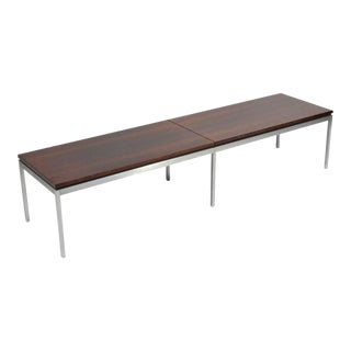 Florence Knoll Rosewood Table or Bench