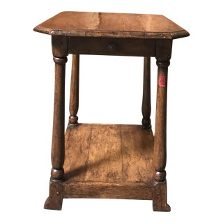 Distressed Spanish Side Table
