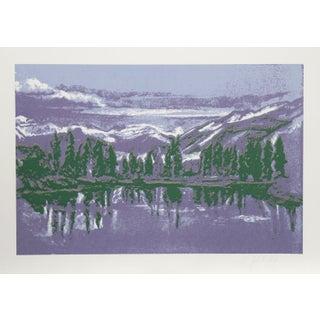 John Healy - Mountain Lake Serigraph