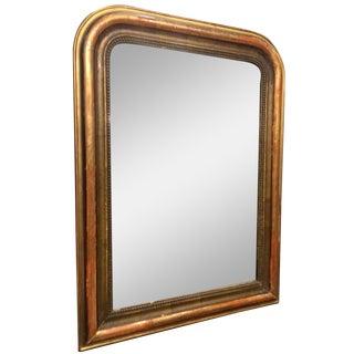 19th-C. Louis Phillipe Gilt Mirror