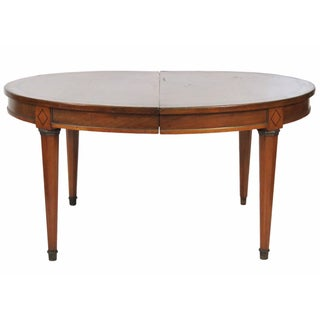 Antique Custom Directoire Style Dining Table