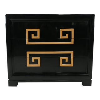 Pair of French Polished Lacquer Chests by Kittinger