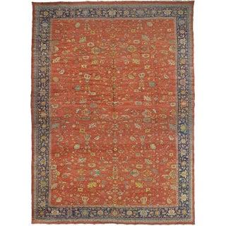 """Antique Mahal Persian Carpet - 24'8"""" x 18'6"""""""