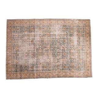 "Distressed Vintage Oushak Carpet - 8'2"" x 11'8"""