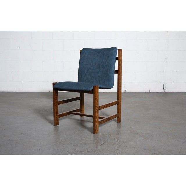 Image of Wenge Slipper Dining Chairs - Set of 4
