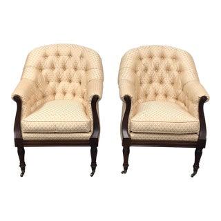 Robert Allen Richmond Accent Chairs - A Pair