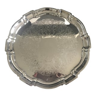 Poole Bristol Silver Serving Tray