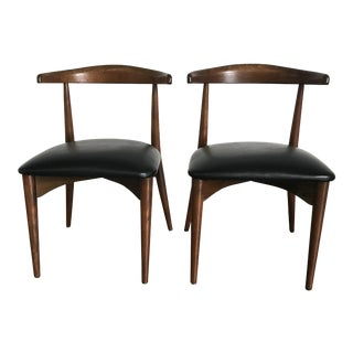 Lawrence Peabody for Richard Nemschoff Dining Chairs - A Pair