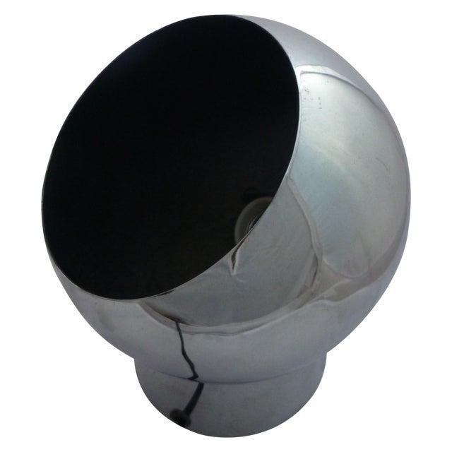 Image of George Kovacs Mid-Century Chrome Eyeball Lamp