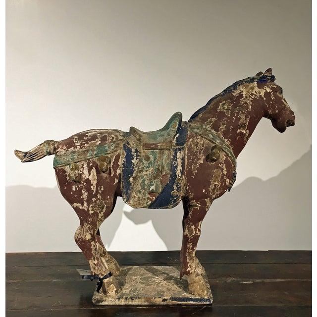 Antique Horse Statue - Image 4 of 5