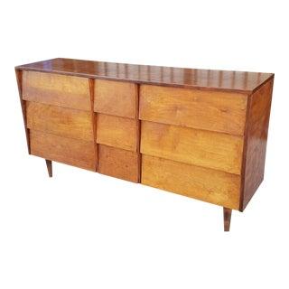 Mid-Century Louvered Dresser