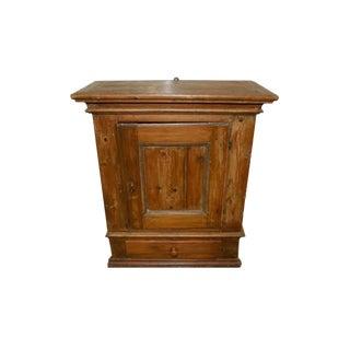 Antique Hanging Pine Cabinet