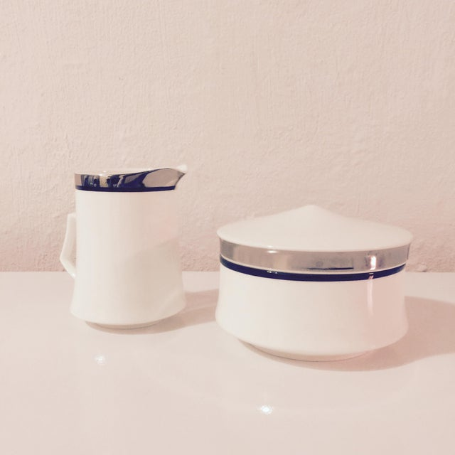 Mikasa Bone China Creamer & Sugar Bowl Set - Image 2 of 8