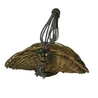 Vintage Wicker Basket Osier