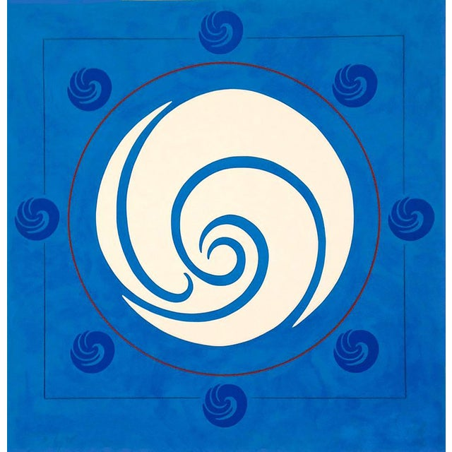 "Jack Youngerman ""Mandala"" Print - Image 1 of 3"