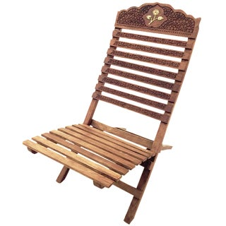 Vintage Indian Folding Chair