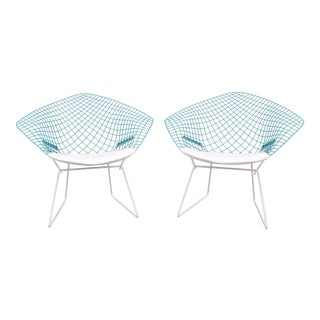 "Mid-Century Modern ""Diamond"" Chairs by H. Bertoia for Knoll - A Pair"