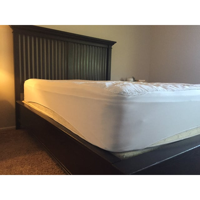 Image of Crate and Barrel Queen Bed Frame