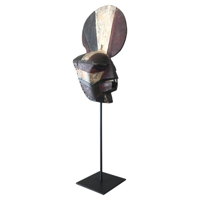 "Songeye Kiwebe ""Poilce"" Mask II - Image 1 of 5"