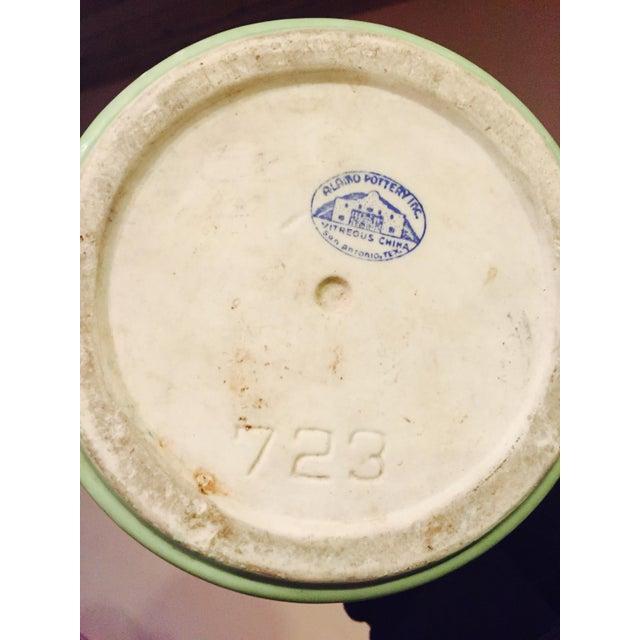 Image of Mid-Century Green Alamo Pottery Vase