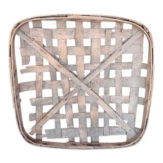 Antique Tobacco Basket
