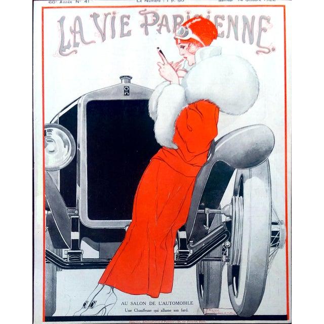 1922 La Vie Parisienne Cover Prints - a Pair - Image 6 of 9