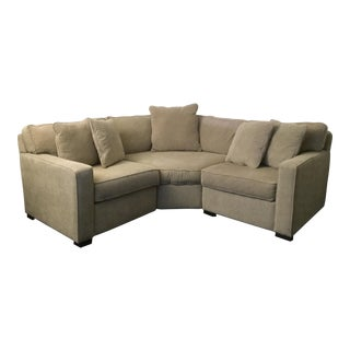 Macy's Radley Apartment Sectional Sofa