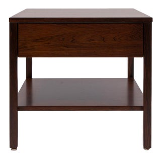 Florence Knoll Rosewood Side Table