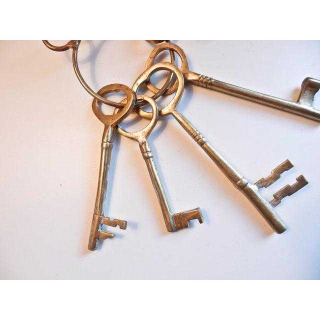 Vintage Brass Skeleton Keys - Image 4 of 9