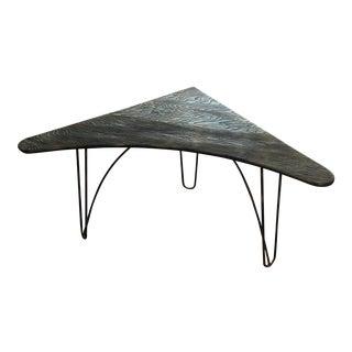 Mid-Century Atomic Boomerang Desk Corner Table
