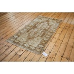 "Image of Distressed Oushak Rug Runner - 3'6"" x 6'9"""