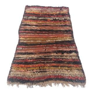 Turkish Handmade Tribal Rug - 2′11″ × 5′2″
