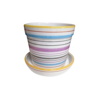 Tiffany & Co Planter Pot and Saucer