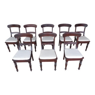 Crate & Barrel Dining Chairs - Set of 8