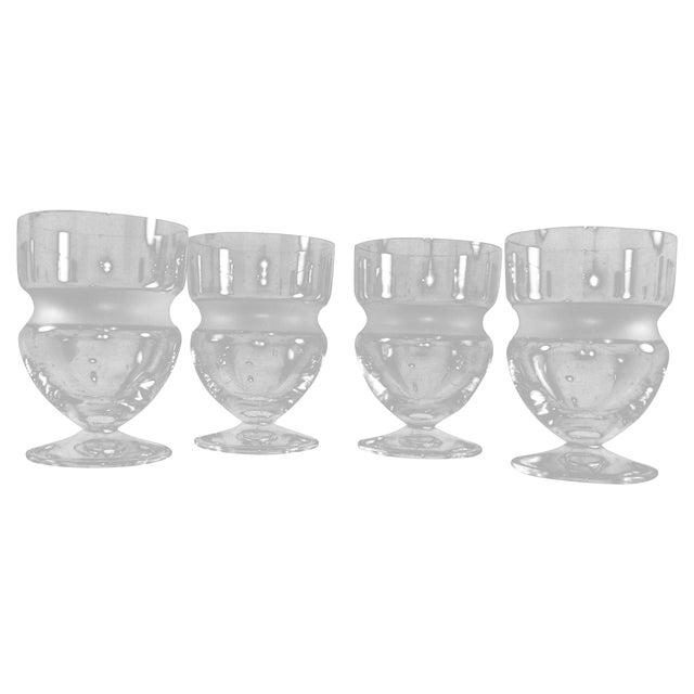 Vintage Vera Wang St. Tropez Juice Glasses - Set of 4 - Image 1 of 4