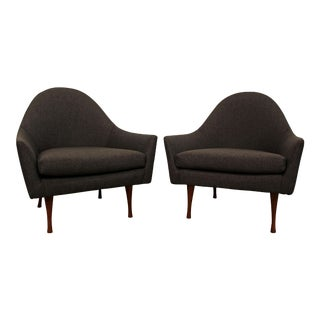 Paul McCobb Symmetric Group Mid-Century Modern Lounge Chairs- A Pair