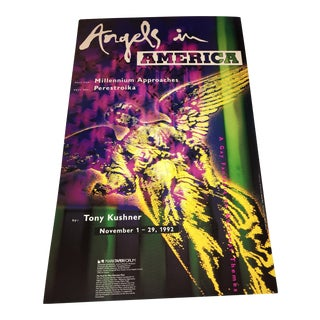 "1992 ""Angels in America"" Original Poster"