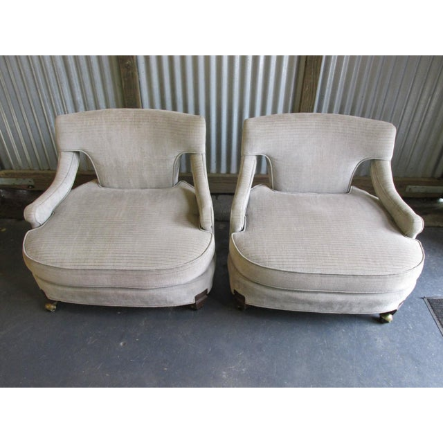 Billy Haines Style Vintage Lounge Chairs - A Pair - Image 10 of 10