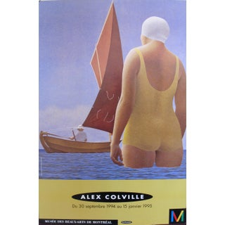 Alex Colville Exhibition Poster, Montreal Museum of Fine Arts