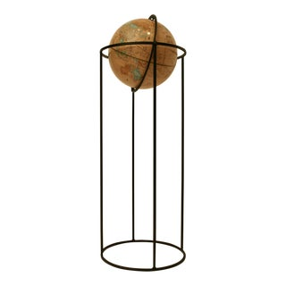 Paul McCobb-Style Standing Floor Globe