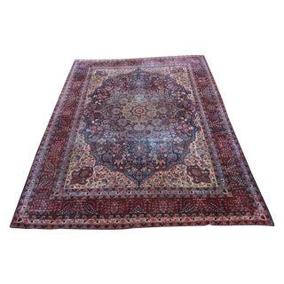 Classic Antique Kerman Rug - 10′1″ × 14′2″