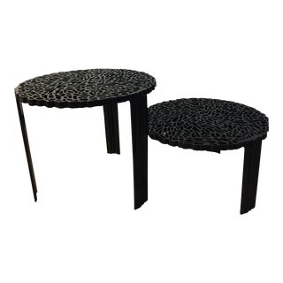 "Kartell ""T-Table"" Nesting Tables - A Pair"